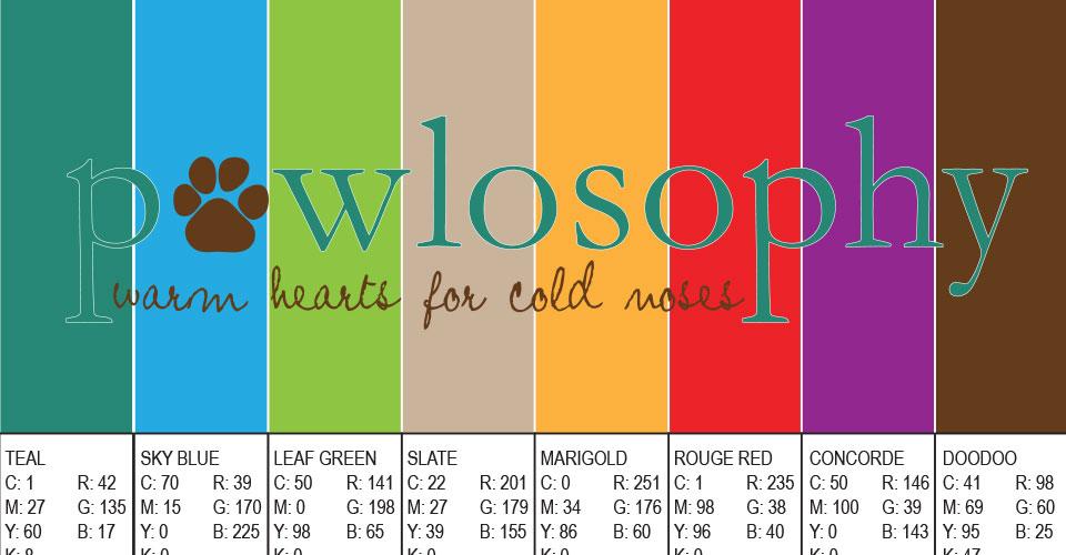 Pawlosophy Brand Palette